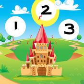 123 活跃! 游戏,学习计数 儿童用 童话故事 1