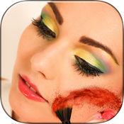 化妆自拍贴纸和化妆游戏编辑器  1