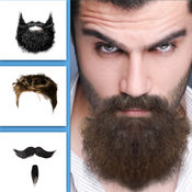 流行 潮流 男士 发型 和 小胡子 和 胡须  1