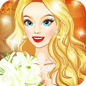 婚礼女孩扮靓沙...