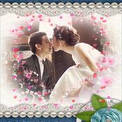 摄像头帧婚纱照,婚纱照拼图,相框婚纱照结婚,订婚摄影,婚纱 2.2