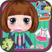 贝贝小公主上学儿童游戏-宝宝爱玩的换装做饭游戏大全 1.4