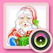 圣诞节搞笑变脸相机 1