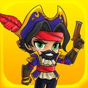 好玩的海盗运行 - Fun Pirates Run Free Game 1