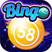 Bingo Comet - 银河大奖和多个涂抹随着拉斯维加斯赔率 1.0