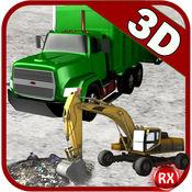 垃圾车模拟器重机挖掘机 1.1