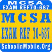 MCSA考试参考70-687准备 2