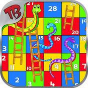 蛇和梯子重装上阵与经典为孩子游戏 3