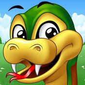 小蛇吃苹果 (Sna...