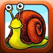 蜗牛粉碎:比赛3风格的游戏,成人及童装 1