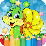 蜗牛绘图着色书 ...