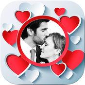 爱情相框照片处理编辑器 - 用含有浪漫图片的相框来编辑你