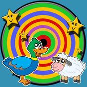 农场动物和飞镖儿童 - 没有广告 drgt_nopu_1.0.0