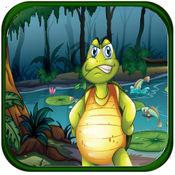 寻找超级英雄忍者壳牌FREE:英雄猎人少年玩转微型龟游戏