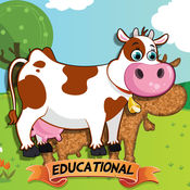 适于儿童的动物拼图 – 教育版 3