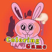 疯狂的兔子图画...