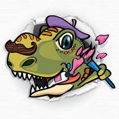 Swipea画画游戏:恐龙,孩子着色书 2.1.6
