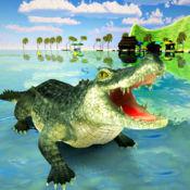 野生 鳄鱼 攻击 : 狩猎 杀手 鳄鱼 1