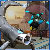 机器人队隐身操作 — — 间谍无人机模拟器 1