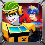 英雄小隊游戏. 打扮的超级英雄机器人 英雄 有趣的游戏 1.1
