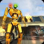 金屬機器人戰鬥的機器人worldwar變換戰鬥 1