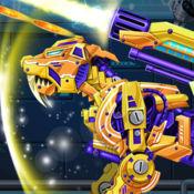 机械机器人霸王虎龙-组装老虎恐龙益智游戏 1.2