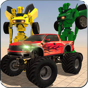 机器人汽车模拟器与运输车怪物卡车 1
