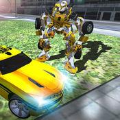 机器人变形模拟 - 超级英雄战争城市游戏 1