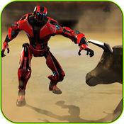 机器人与公牛 - 真正的战争钢铁猖獗