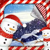 降雪壁纸和背景 1