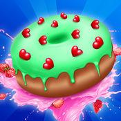 甜甜圈制造商烹饪餐厅:烹饪游戏 1
