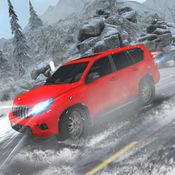 雪驾驶模拟器 3D-4 x 4 普拉多司机游戏 1