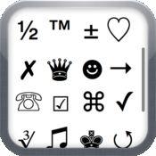 字符2012 - 额外的符号,绘文字和ASCII字符 1