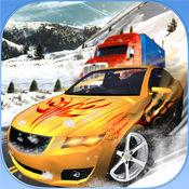 斯诺山汽车和卡车疯狂驾驶模拟器游戏 2