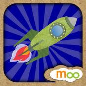 火箭, 飞机 , 船 - 儿童益智游戏 , 图画, 拼图活动 (英语,
