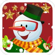 雪人的圣诞节-女生儿童游戏免费 1