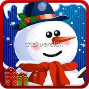 雪人制造商 — — 免费冷冻的酷白色冬季假期游戏的女孩 &