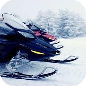 雪地车 赛车! 一个 冻结 冷 团结 赛车 自由 1