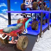 雪地车运输卡车 - 吹雪机驾驶 1