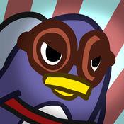 火箭企鹅赛车 - 一个有趣的 的飞行游戏 Rocket Penguin Je
