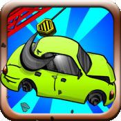 至尊 汽车 堆叠 终极 砸得 车辆 桩 挑战 游戏 1