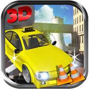 出租车 跑車 3D - Crazy Taxi Parking Adventure Simulato