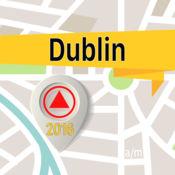 都柏林 离线地图导航和指南 1
