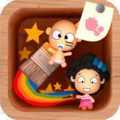 阿布涂鸦之星 for iPad - 幼儿画图、色彩应用 1