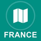 法国 : 离线GPS导航 1