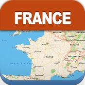 法国离线旅游地图 1