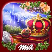 隐藏的物体公主城堡 - 游戏的女孩免费益智游戏隐藏物体的