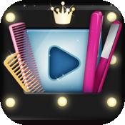 可爱发型:一步一步的视频教程 - 美容美发改造 1