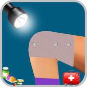 膝盖手术 - 虚拟医生和医院对游戏有点疯狂外科医生 1