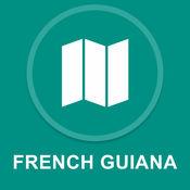 法属圭亚那 : 离线GPS导航 1